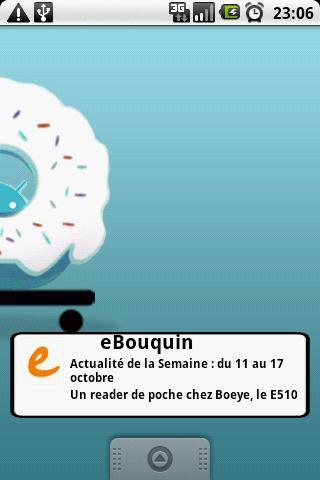 Widget du site eBouquin