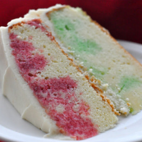 Holiday Jell-O Poke Cake