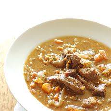 Irish Lamb-And-Barley Soup