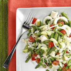 Asparagus, Green Bean, and Hearts of Palm Salad
