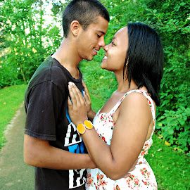 Young Love! by Christina Brown - People Couples