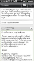 Screenshot of Report Malaysia Taxi