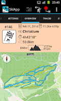 Screenshot of SkiApp LITE - THE Ski Computer