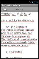 Screenshot of Constituição Federal Brasileir