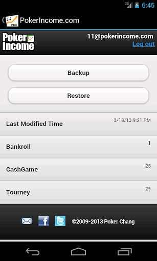 Poker Income - Best Tracker - screenshot