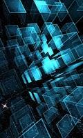 Screenshot of Matrix 3D Cubes 3 LWP