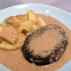 Potatoburgers With Gravy