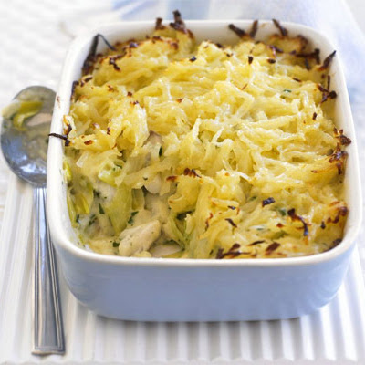 Rosti-topped Fish Pie
