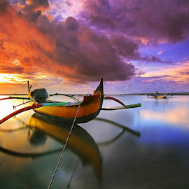 Cloudy by Nghcui Agustina - Transportation Boats (  )