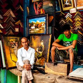 Waiting by Ishani Barman - People Street & Candids