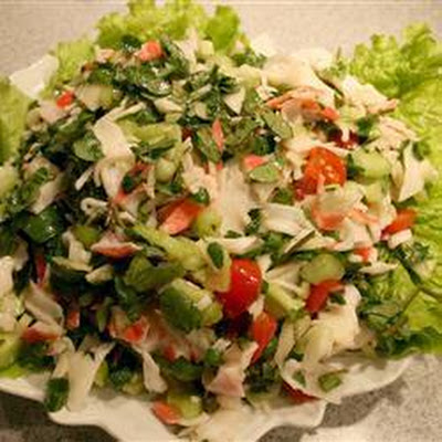 Watercress And Crab Salad