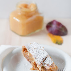 Quince and Hazelnut Apple Strudel