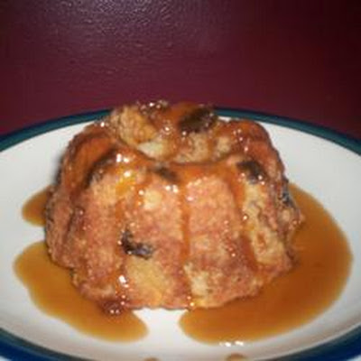 Apple Cake and Butter Sauce