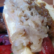 Sauerkraut With Apple and Caraway
