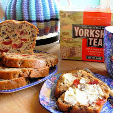 Yorkshire Tea Loaf With Mixed Spice, Cherries and Raisins