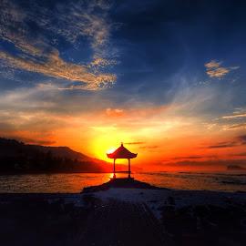 Always wait by Robert M - Landscapes Sunsets & Sunrises ( bali, sunrise )