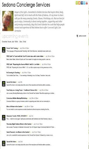 【免費生活App】Sedona Concierge Services-APP點子