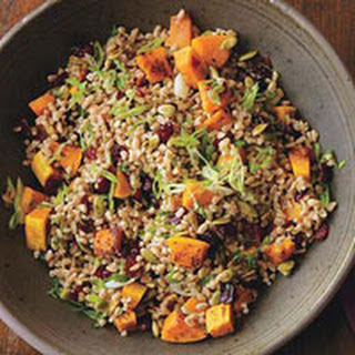Farro and Roasted Squash Pilaf