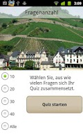 Screenshot of Weinquiz Deutschland