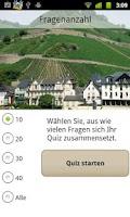 Screenshot of Weinquiz Deutschland