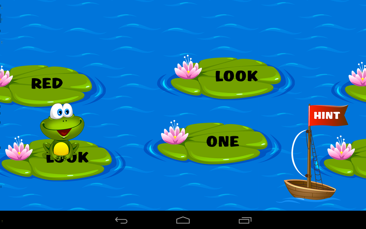Kids Reading Sight Words Screenshot 12