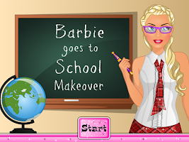 Screenshot of Princess School Makeup