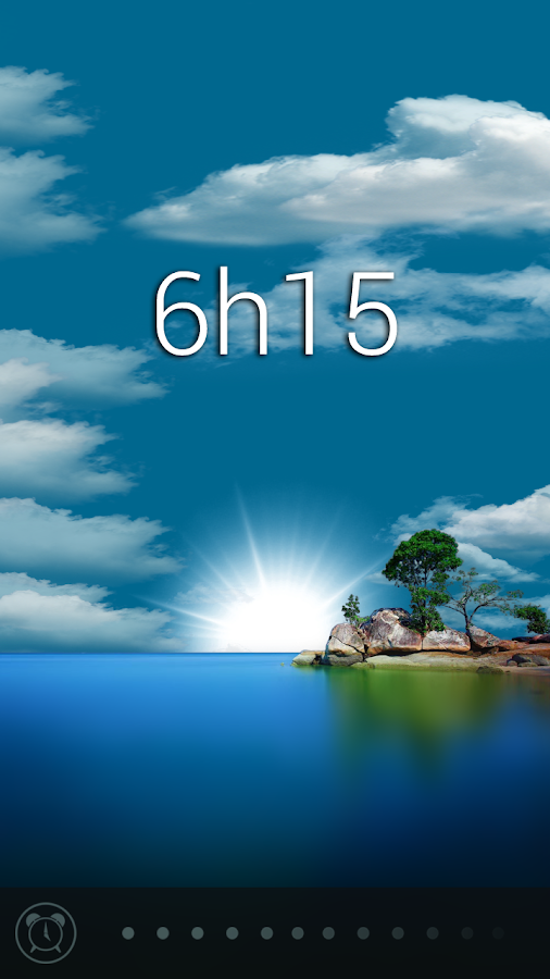 Glimmer (luminous alarm clock) Screenshot 5
