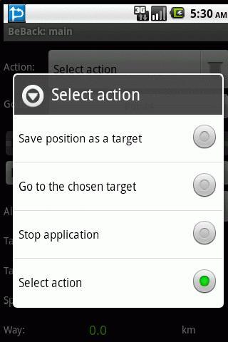 BeBack - screenshot