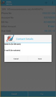 Screenshot of My BSNL App