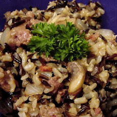 Budweiser Wild Rice and Sausage