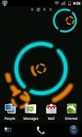 Screenshot of NeonGears Live Wallpaper Basic