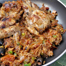 Asopao De Pollo - Caribbean Chicken and Rice