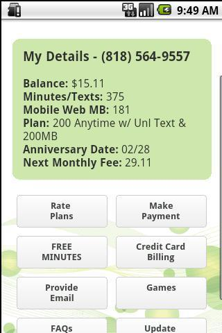 i-wireless My Account