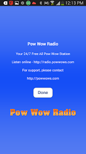 Pow Wow Radio HD - screenshot