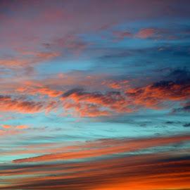 by Hazel Malmede - Landscapes Cloud Formations