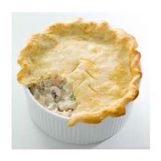 Creamy PHILLY Chicken Pot Pie