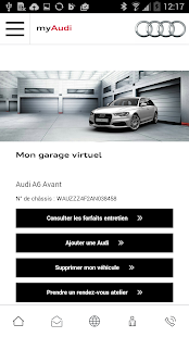myAudi - screenshot