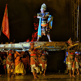 Story perform of Majapahit by Hery Sulistianto - News & Events Entertainment (  )