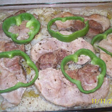 Oven Baked Pork Chops With Rice
