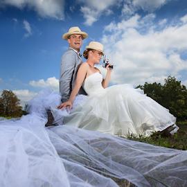 Hochzeit by Dejan Nikolic Fotograf Krusevac - Wedding Bride & Groom ( wedding photography, vencanje, marimonio, wedding, svadba, matrimony, mariage, hochzeit )
