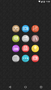 Circlons - Icon Pack- screenshot thumbnail