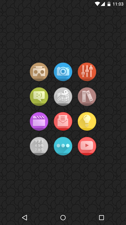Circlons - Icon Pack Screenshot 1