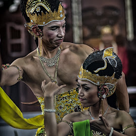 java couple by Joe Takuy - People Musicians & Entertainers (  )