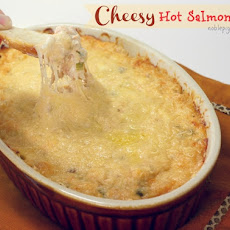 Hot Cheesy Salmon Dip