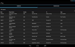Screenshot of GamePlan Soccer Calendar