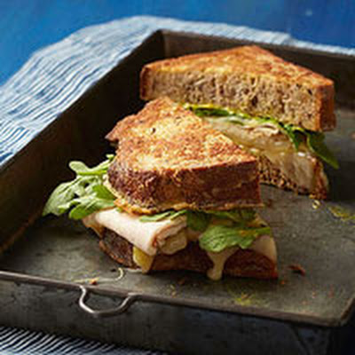 Savory French Toast Sandwiches With Turkey and Swiss