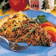 Beef 'n' Green Bean Pie