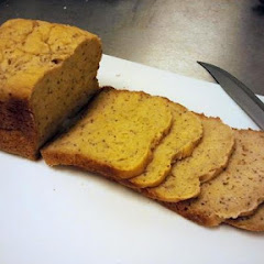 Our delicious gluten-free vegan bread, baked in our kitchen every day!