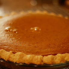Spirited Pumpkin Pie