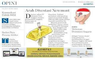 Screenshot of Kompas Editors' Choice